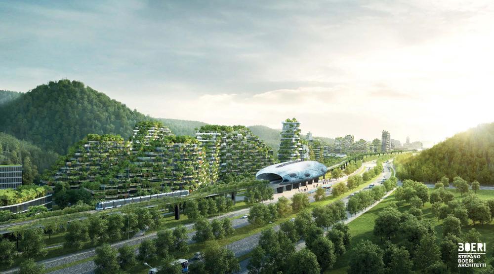 La première ville-forêt se construit en Chine